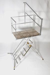 Industrial Work Stand 6 Step 36 inch Platform