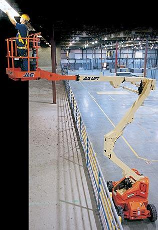 M450A Electric Articulating Boom Lift