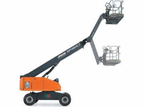 Toyota 39.4 Foot Telescopic Wheeled Boom Lift SP400C