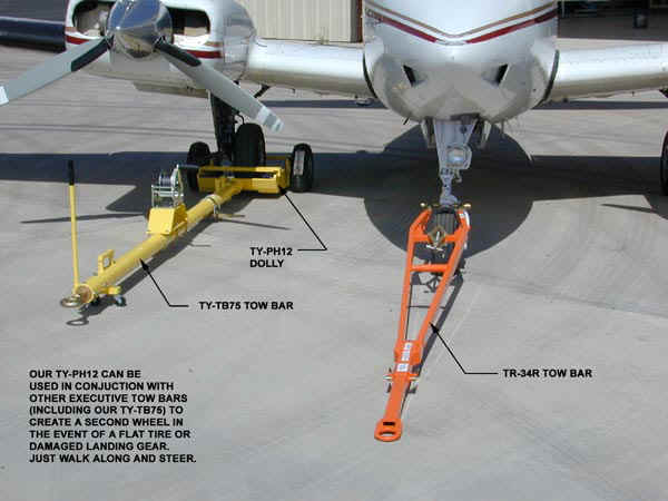 aircraft tow bars