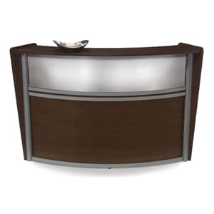 Single-unit marque plexi-reception station