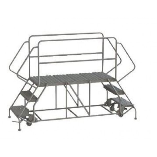 Double Entry Mobile Platform Ladder
