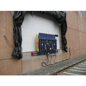 """RRH"" Series Rail Ramp Hydraulic Leveler"