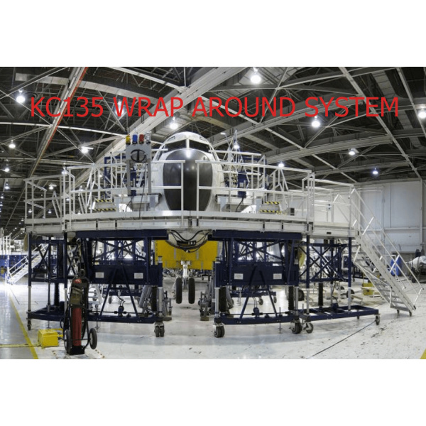 KC135 Aircraft Maintenance Platform Full Docking System