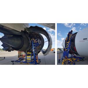 Aircraft Engine Access Maintenance Platform
