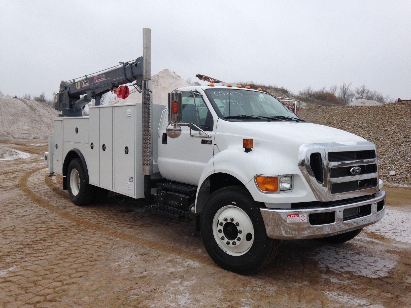 2015 F-750 Service Truck HT66KX
