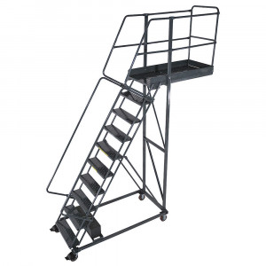 Cantilever Rolling Ladder CL-10 10 Step