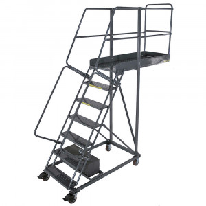 Cantilever Rolling Ladder CL-6 6 Step