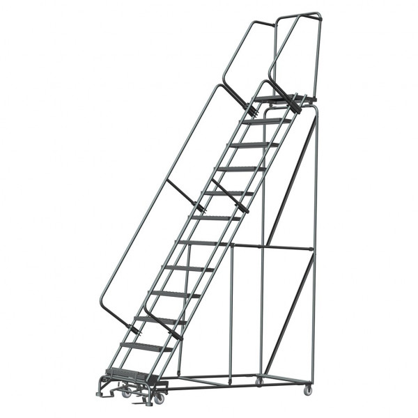 Cantilever Rolling Ladder CL-12 12 Step