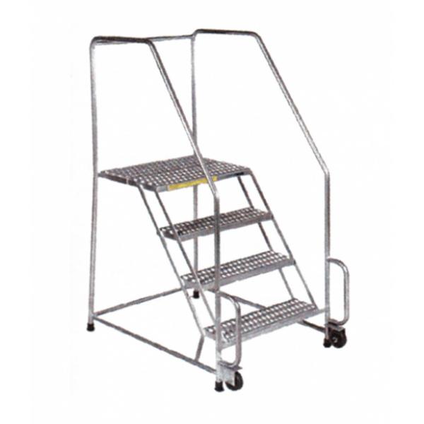 Stainless Steel Tilt & Roll Ladders