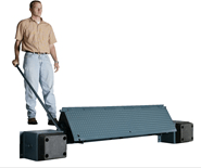 "MEDLF66|MEDLF72|MEDLF78|MEDLF84|""MEDLF"" Series Mechanical Edge Of Dock Lift FreeLeveler"