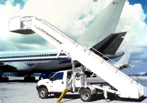 AIRBUS A300 Aircraft Boarding Staircase