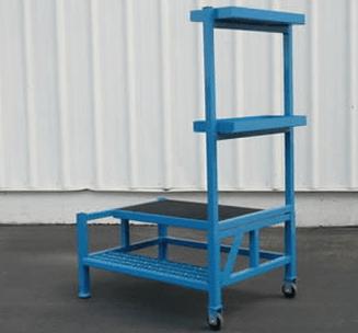 Aircraft Engine Access Maintenance Ladder|custom fabrication|Engine Access ladder|Engine Access Maintenance Ladder|ladder
