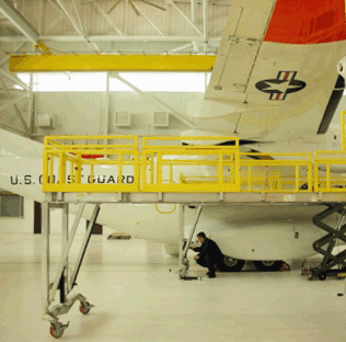 Casa 235 Aircraft Complete Maintenance Stand System