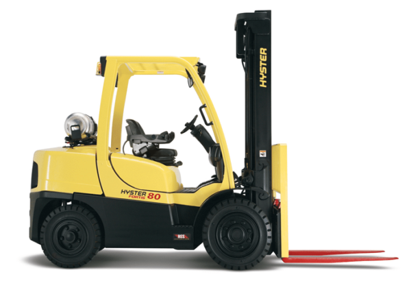 H80-120FT Pneumatic Tire Lift Truck