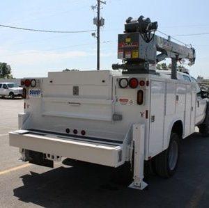 5000lbs Lifting Capacity|HT30KX|HT30KX Truck-Mounted Crane|HT30KX Truck-Mounted Crane 5000lbs Lifting Capacity
