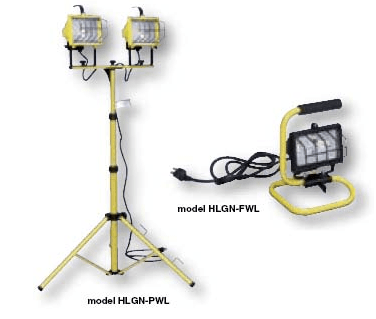 Halogen Work Lights|HLGN-FWL|HLGN-PWL