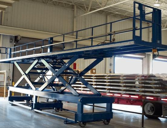 Large Adjustable Work Platforms