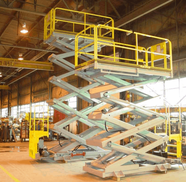 MP Series Manually Positioned Scissor Lifts