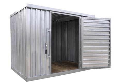 Modular Storage Buildings|STOR-912-G-W-1RH|STOR-96-G-W-1RH
