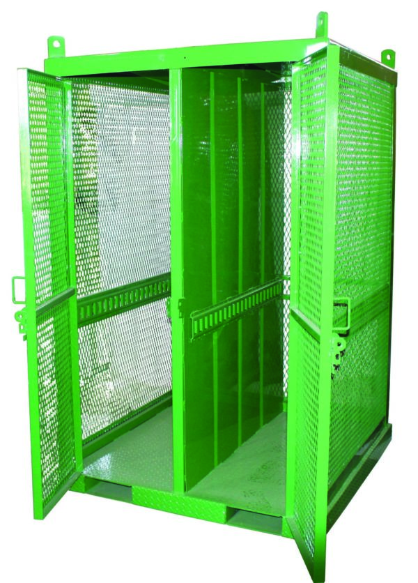 5304-SEF|Acetylene tank cylinder cage|Cylinder Cage|Gas Cylinder Cabinets|Gas Cylinder Caged Cabinets|Oxygen tank cylinder cage|STS-20-FW-2|STS-20-FW-2 Cylinder Cage