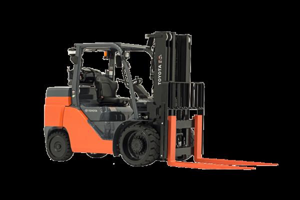 Toyota Lift Truck 15500 lbs Capacity 8FGC70U