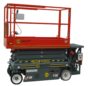 2032EX Explosion Proof Scissor Lift
