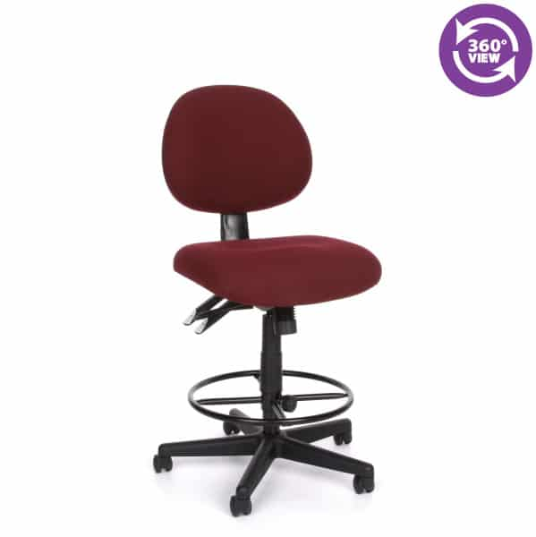 24-Hour Task Chair with Drafting Kit