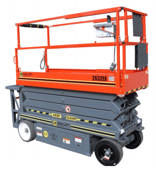 2632EX Explosion Proof Scissor Lift