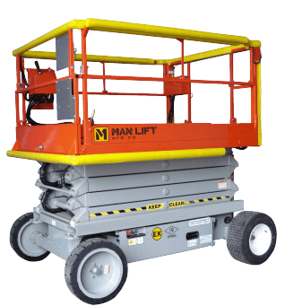 2668EX Explosion Proof Scissor Lift