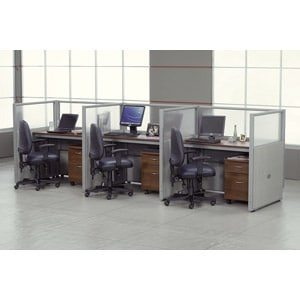 3 Privacy Station Rize Cubicle Kit