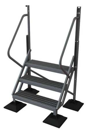 3 Step 50 Degree Incline Fixed Ladder – URTL503