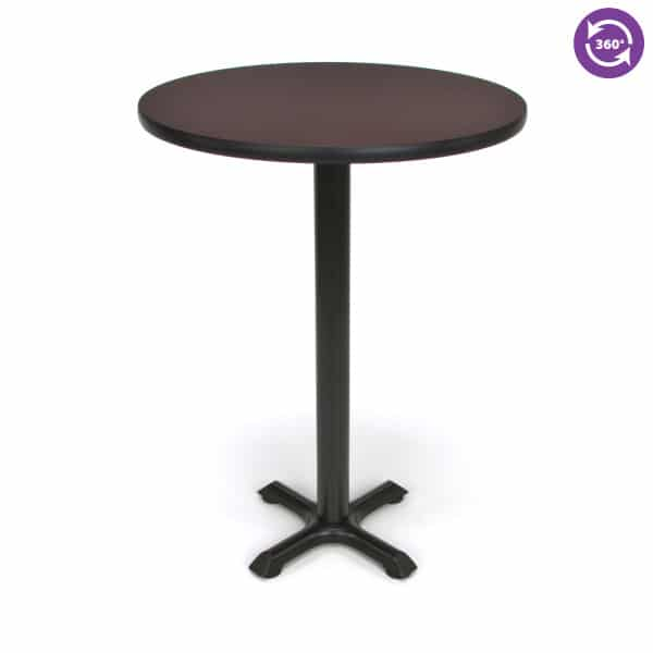 30 Round X Style Base Cafe Table