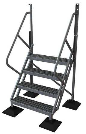4 Step 50 Degree Incline Fixed Ladder – URTL504