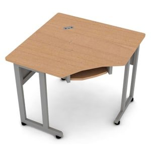 5-Sided Corner Table 24 by 24