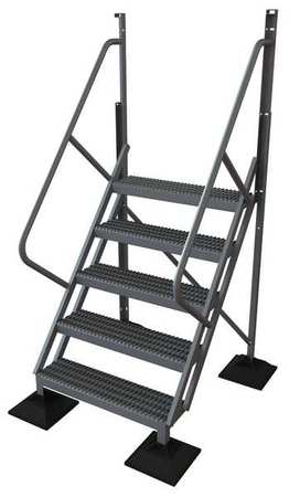 5 Step 50 Degree Incline Fixed Ladder – URTL505