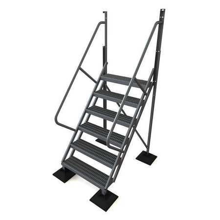 6 Step 50 Degree Incline Fixed Ladder – URTL506