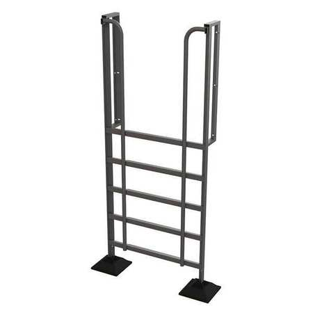 6 Step 90 Degree Incline Fixed Ladder – URTL906