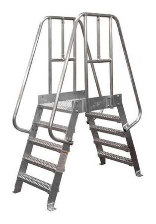 90in Aluminum Crossover Ladder – 6SCA24A3C50P3