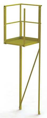 92in Perforated Crossover Turn Platform – UCT04242