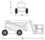 A46JRT Articulated Boom Lift Specifications