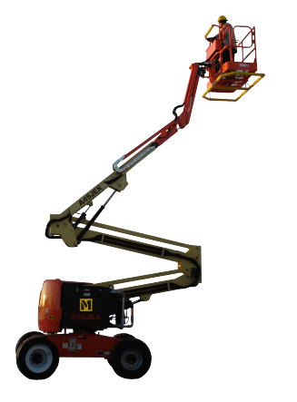 A80EX Explosion Proof Articulating Boom Lift