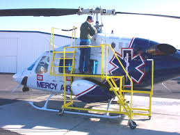 AW139 Helicopter Maintenance Platform 800 Series