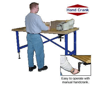 Adjustable Ergonomic Work Benches 1