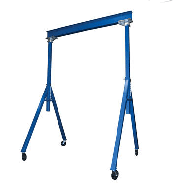 Adjustable Height and Fixed Height Steel Gantry Cranes