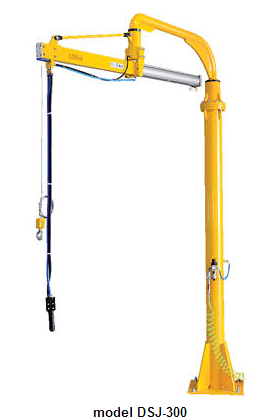 Air Balanced Jib Lifter