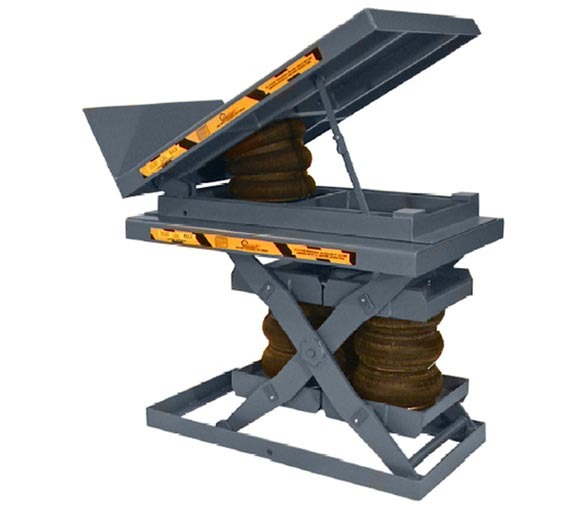 Air Powered Lift & Tilt Table