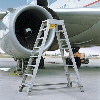 Aluminum All-Purpose Aircraft Ladders