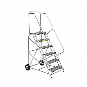 Aluminum Ladder - Wheelbarrow Style