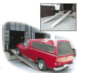 Aluminum Vehicle Twin Ramps